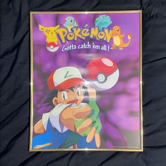 1990s Pokémon Poster
